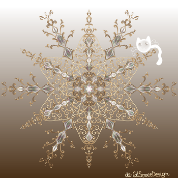 Gilded Star by CatSpaceDesign