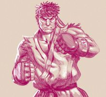 Ryu Sketch by lenadrofranci