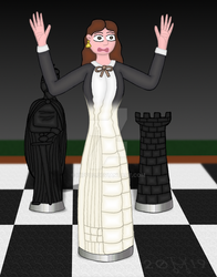 Queen in check by hippo2