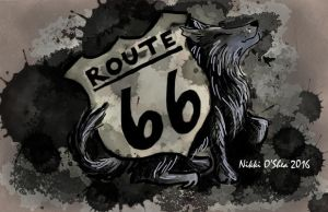 Route 66 : Wolf by DragonPress