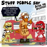 Stuff people say 306 by FlintofMother3