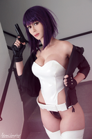 Motoko cosplay by adami-langley