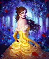 Princess Belle by yaile