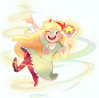 Star Butterfly by AJ-illustrated