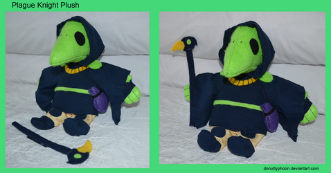 Plague Knight Plush by DonutTyphoon