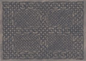 celtic knotwork panel by spookyt5