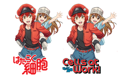 Hataraku Saibou/Cells at Work! Icon by Edgina36