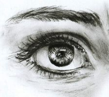 Eye sketch by HenchGoose