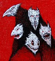 DAEMONS by jeremyfamir