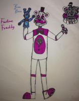 Funtime Freddy by FnafArts003