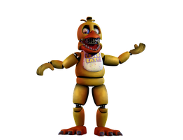 Unwithered Chica 3 by 133alexander