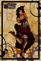 Steampunk Esmeralda II by HelleeTitch