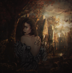 HALLOWEEN QUEEN // LILY COLLINS by wolvlevan