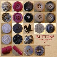 Buttons 9 Collection 3 by Gwathiell