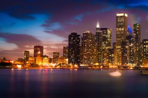 Windy City Nights by 918concept