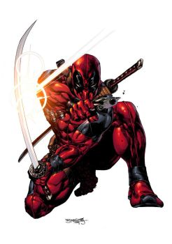 Deadpool 14 variant cover by Summerset