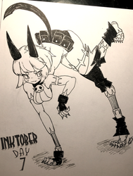 Ms. Fortune (Inktober) by SaifSiph