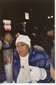 Aretha Franklin with the Torch by WingDiamond