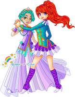g: Dance of the Rosebride and her Prince by Queen-of-Color