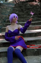The Ninja and the Purple Butterfly by MarthCosplayArt