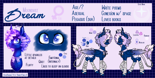Dream Reference Sheet by SpaceBananaZ