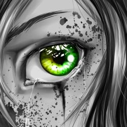See these EYES so green by TheSwissCookie