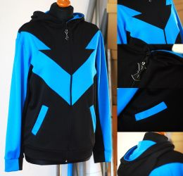 NIGHTWING: dick grayson hoodie by envylicious