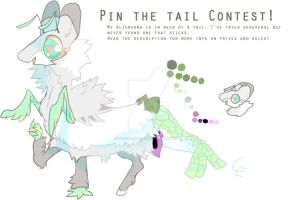 Pin the tail contest entry! Read desc for simple! by CrookedEmerald