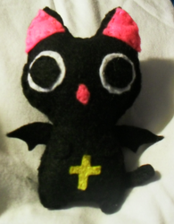 Nyanpire Plush by 1Meh1