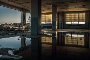 Abandoned Reflections by 5isalive