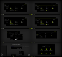 Full Black Lemon Theme Win10 Fall Creators by Cleodesktop