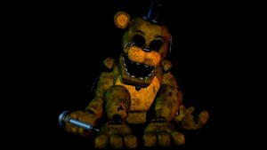 Golden Freddy by CoolioArt