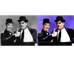 laurel and hardy by Ed-Head73