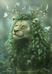 Guardian of the Forest by josephinekazuki