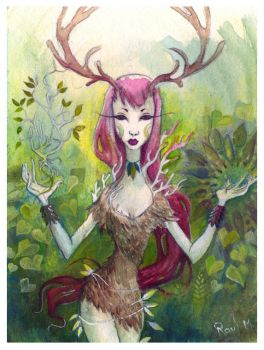 forest spirt by perrous