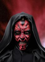 darth maul by ashasylum