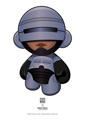 RoboCop Munny by nkunited
