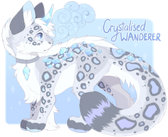 Crystalised Wanderer - Dreago Auction - closed by Felispirit