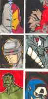 sketch life 42 sketch cards by eugenecommodore