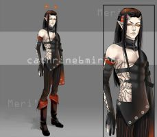 Adopt14 auction (CLOSED) A Devil's Son by cathrine6mirror