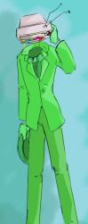 The green screen suit by ConceptualShiekah