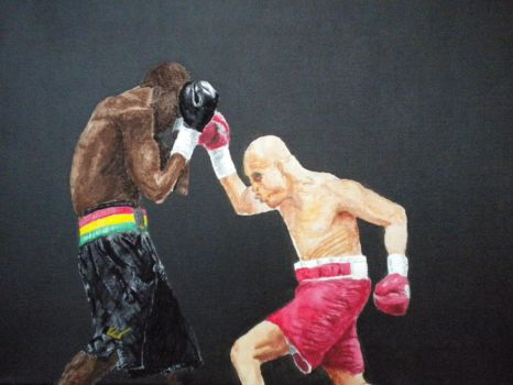 Boxing Match by Chris-Taylor