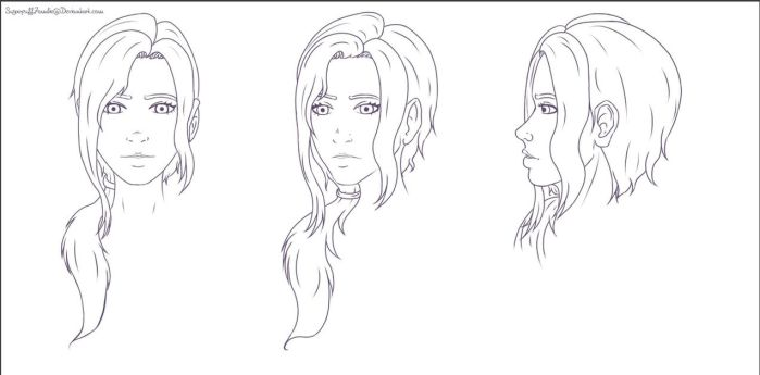 Left 4 Dead OC - Reference Sheet WIP by SugarpuffZombie