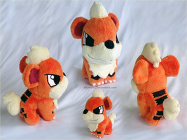 Growlithe Pokedoll