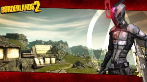 Borderlands 2 Wallpaper - Zero Landscape by mentalmars