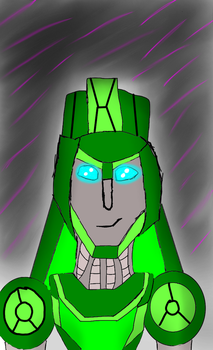 Mtmte oc GreenBlade by jazzy3567
