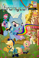 Bronycon Book Cover Submission by PixelKitties