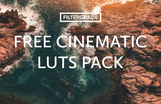 Free Cinematic LUTs Pack on FilterGrade by filtergrade