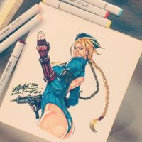 Cammy fanart by SantaFung