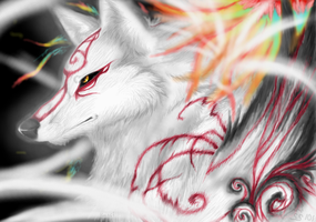 Okami- .::The Sun Rises::. by FayeleneFyre